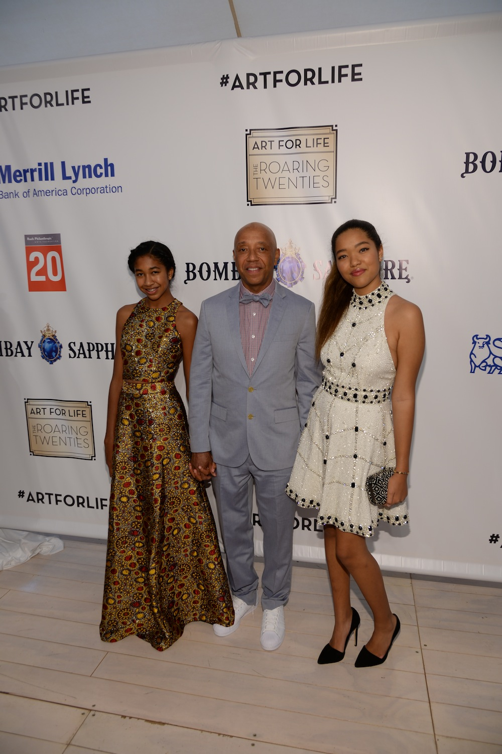 Russell Simmons' Rush Philanthropic Arts Foundation Celebrates 20th Anniversary At Annual Art For Life Benefit - Arrivals