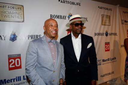 Russell Simmons' Rush Philanthropic Arts Foundation Celebrates 20th Anniversary At Annual Art For Life Benefit - Program   & Dinner